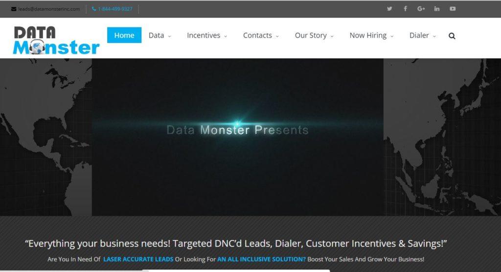data monster inc website pic