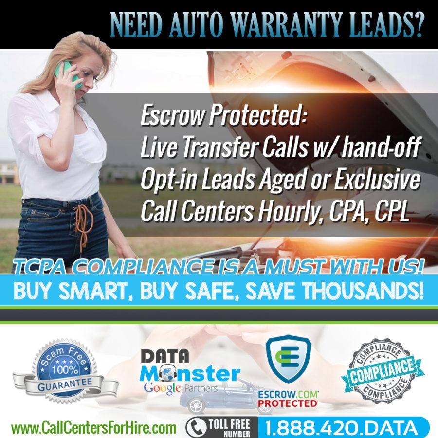 Auto Warranty leads and Auto Warranty Live Transfers