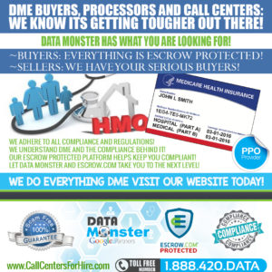 Durable Medical Equipment DME Live transfers leads