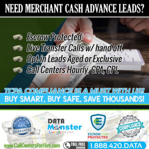Merchant Cash Advance Leads MCA Leads and Live Transfers!