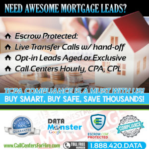 Mortgage Leads and live transfer mortgage leads