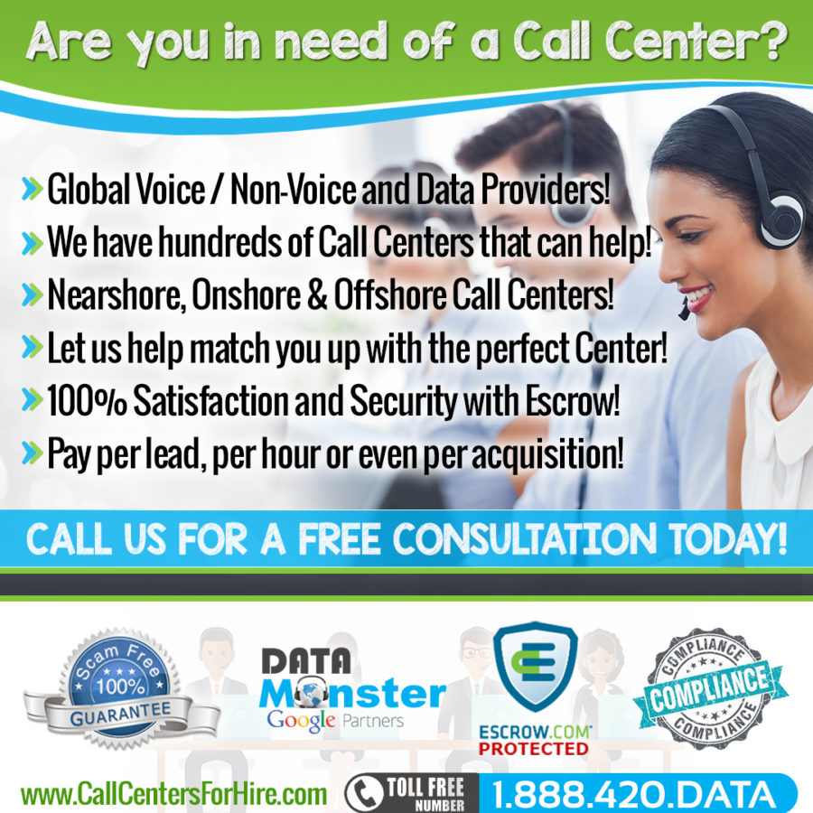 Call Centers Hourly Call Center Brokers
