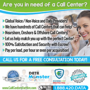 Hire a call center, onshore, nearshore, offshore, cpa, cpl, hourly call centers
