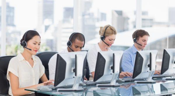 telemarketing call center hourly