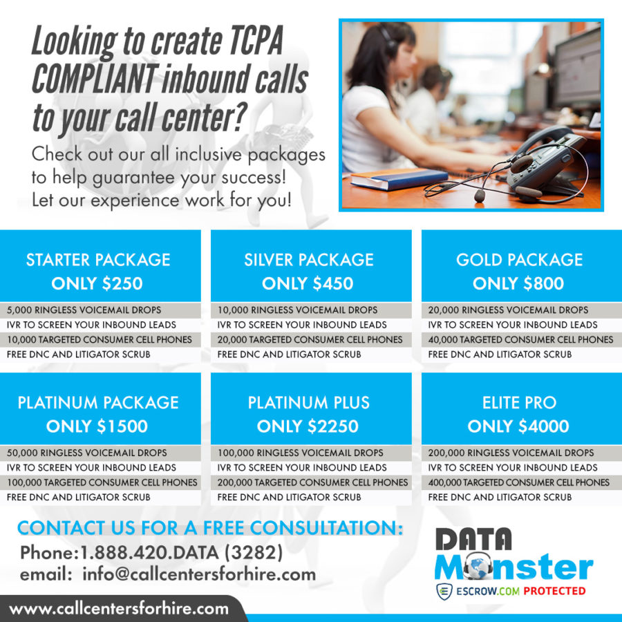 IVR live transfer leads Packages
