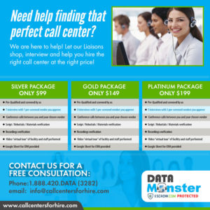help finding a call center