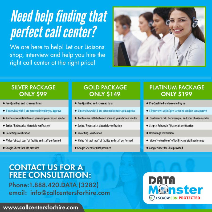 help finding a call center