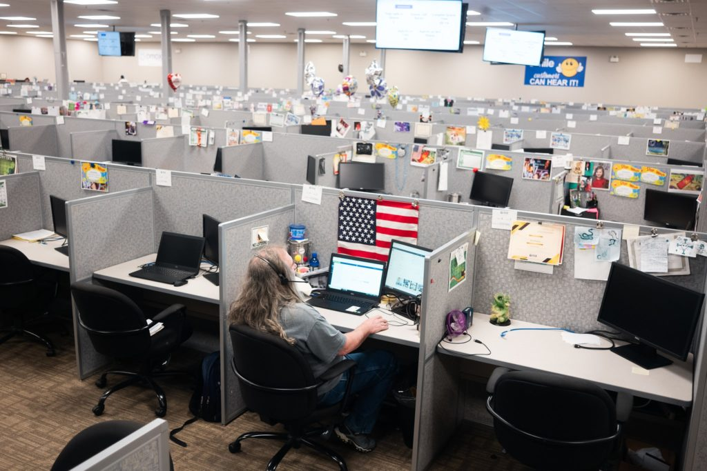 CALL CENTERS EMPTY SERVING VETERANS
