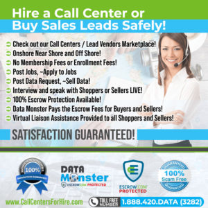 Buy and Sell Call Center Services