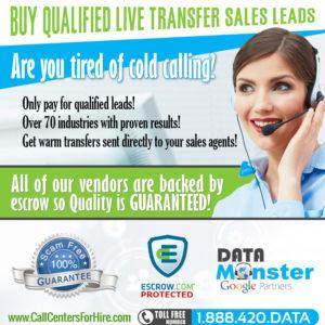 buy live transfer leads