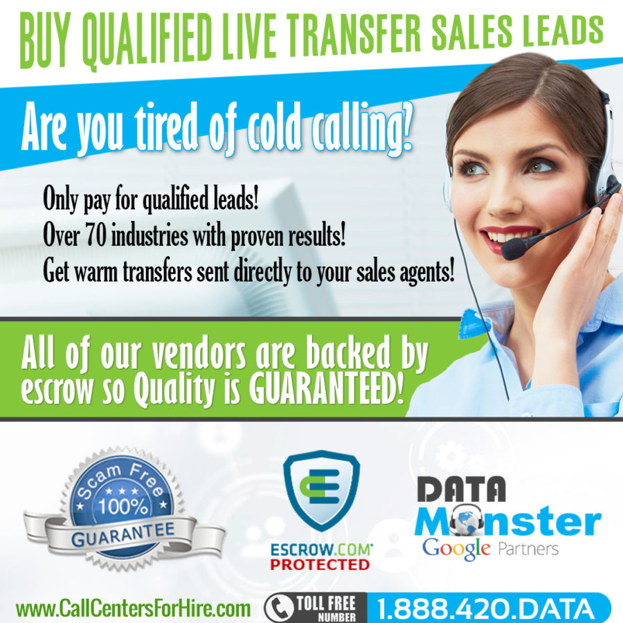 buy live transfer leads