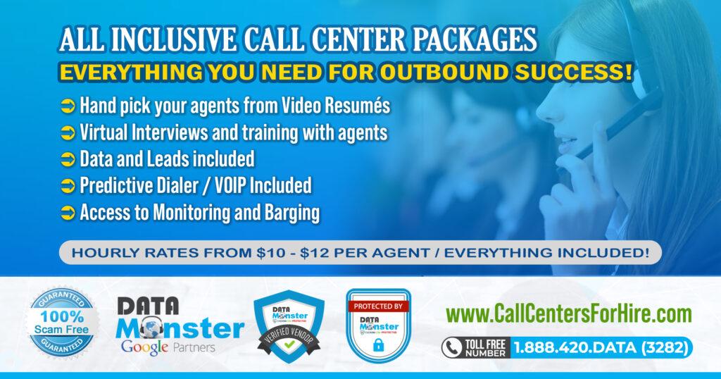 All inclusive call center services
